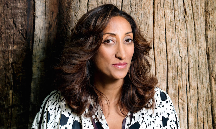 Comedian Shazia Mirza for Arts. Photo by Linda Nylind. 16/7/2015.