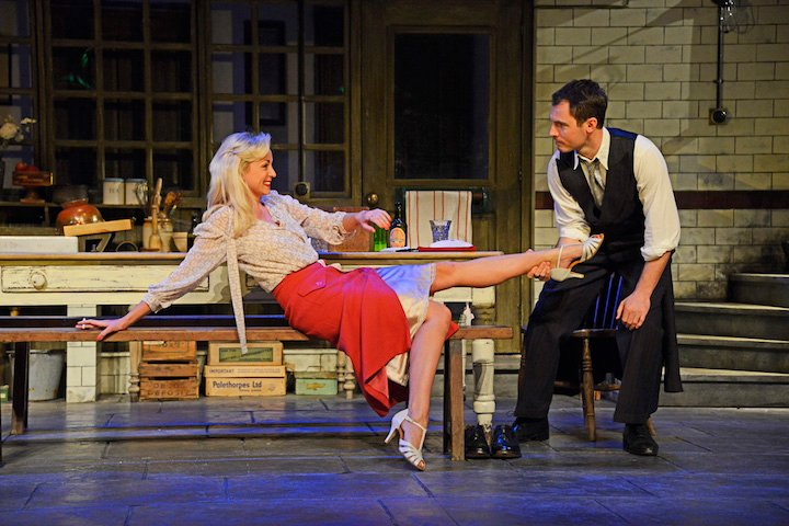 Theatre Royal Bath Dress Rehearsal May 2016 After Miss Julie by Patrick Marber Directed by Anthony Banks Designer Philip Gladwell Lighting Designer Colin Richmond Helen George/ Miss Julie Richard Flood/ John Amy Cudden/ Christine ©NOBBY CLARK +44(0)7941-515770 +44(0)20-7274-2105 nobby@nobbyclark.co.uk