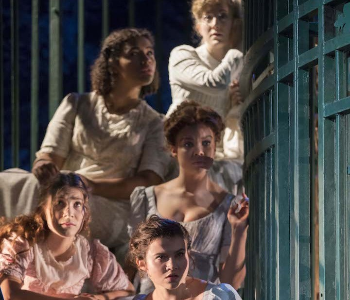 PRIDE AND PREJUDICE by Austen, , Writer - Jane Austen, Director - Deborah Bruce, Designer - Max Jones, Composer - Lillian Henley, Lighting - Tina MacHugh, Sound - Matt McKenzie, Churchill Theatre, Bromley,2016, Credit - Johan Persson - www.perssonphotography.com /