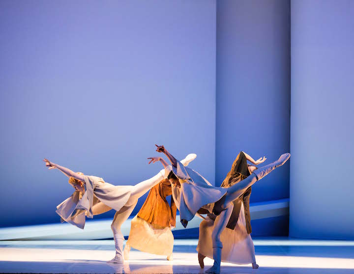 Northern Ballet dancers in Romeo and Juliet