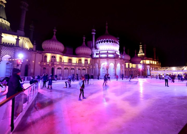 Picture by Jim Holden 07590 683036 The Royal Pavilion Ice Rink opens in Brighton tonight (08/11/12) 2012 Contact Paula at Natural PR 01273 857242 for press release