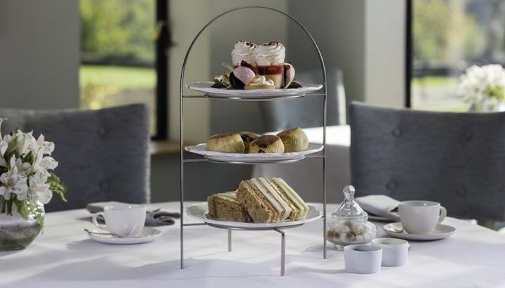 Afternoon tea at Foxhills Resort, Surrey