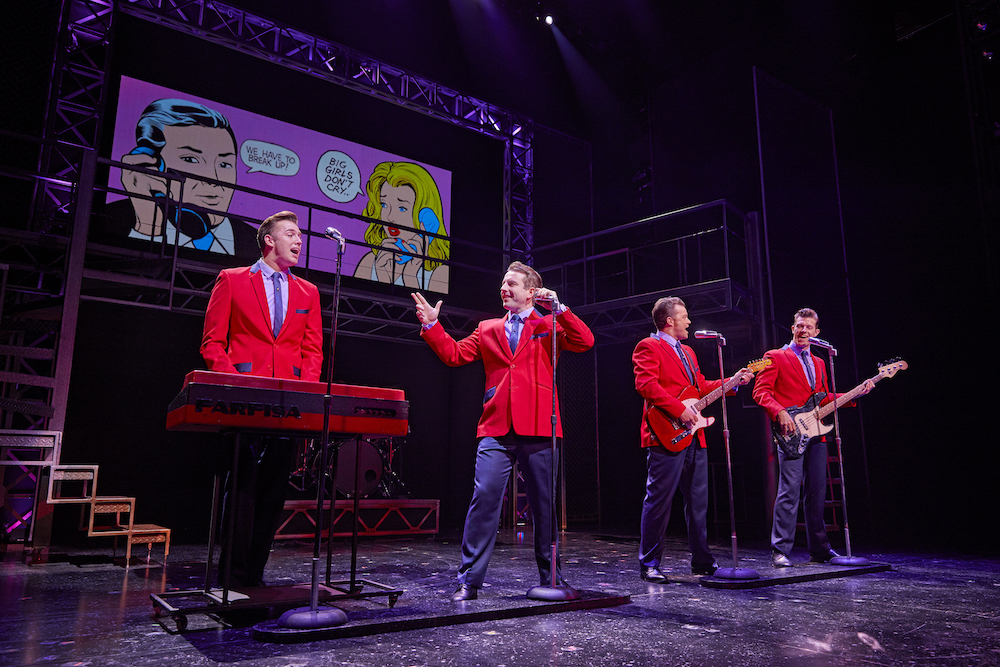 Theatre review: Jersey Boys | Stage | Muddy Stilettos, Surrey
