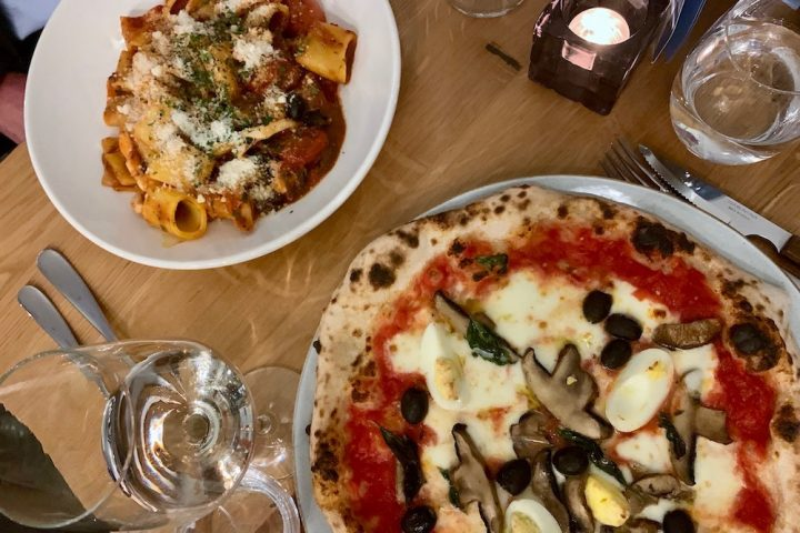 Pizza and pasta at Cento Uno, Surbiton