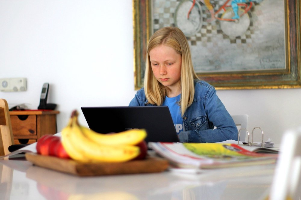 homeschooling, child learning at home
