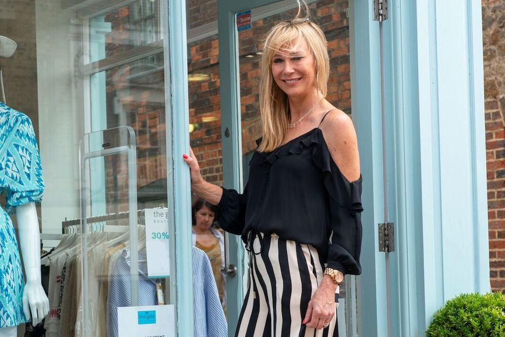 Liz Trendle - Owner of The Gate Boutique in Guildford and Catwalk in Godalming, Surrey