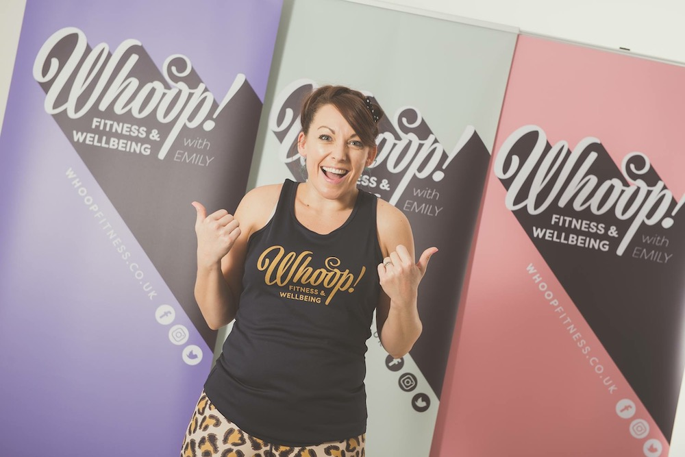 Emily Watson - Founder of Whoop! Fitness and Wellbeing