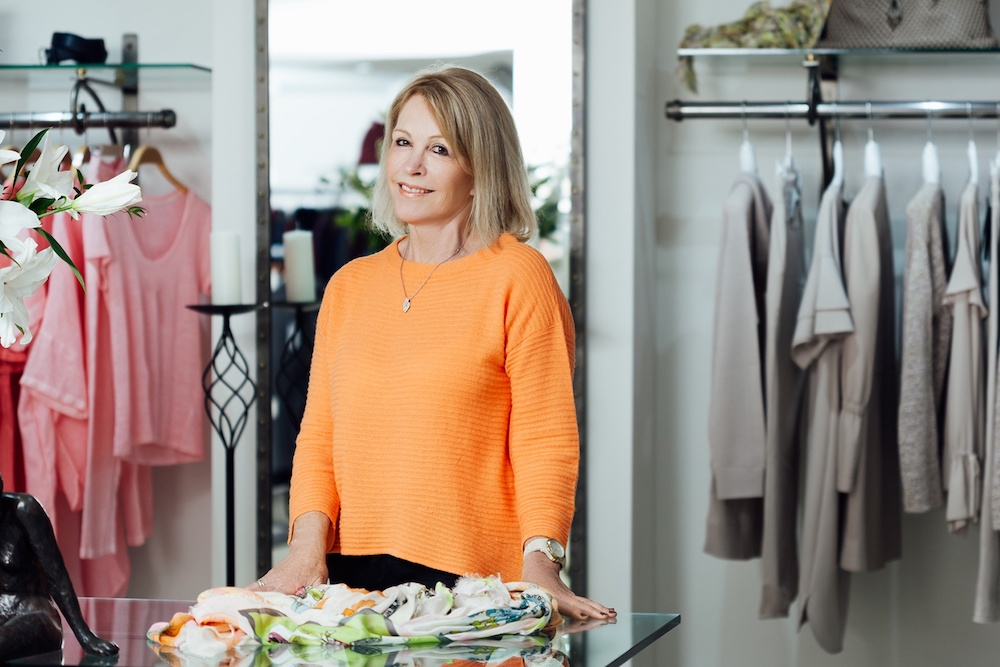 Julia Jaconelli - Founder and owner of Courtyard Boutique in Guildford