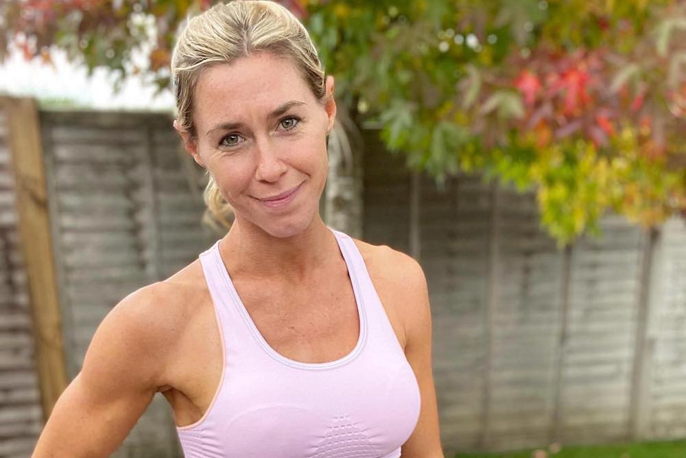 Lucinda Newman-Jones, Surrey fitness trainer, Thrive in 5, Fitness Runs in the Family
