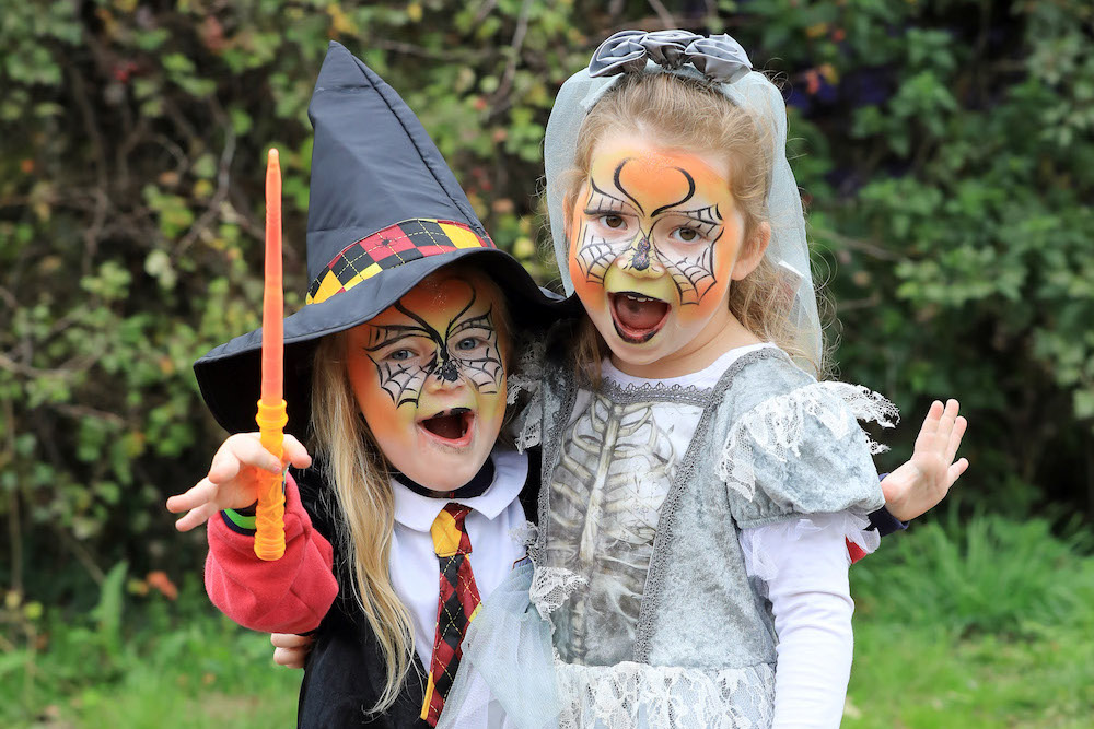 Witches and wizards at Bocketts Farm, Surrey