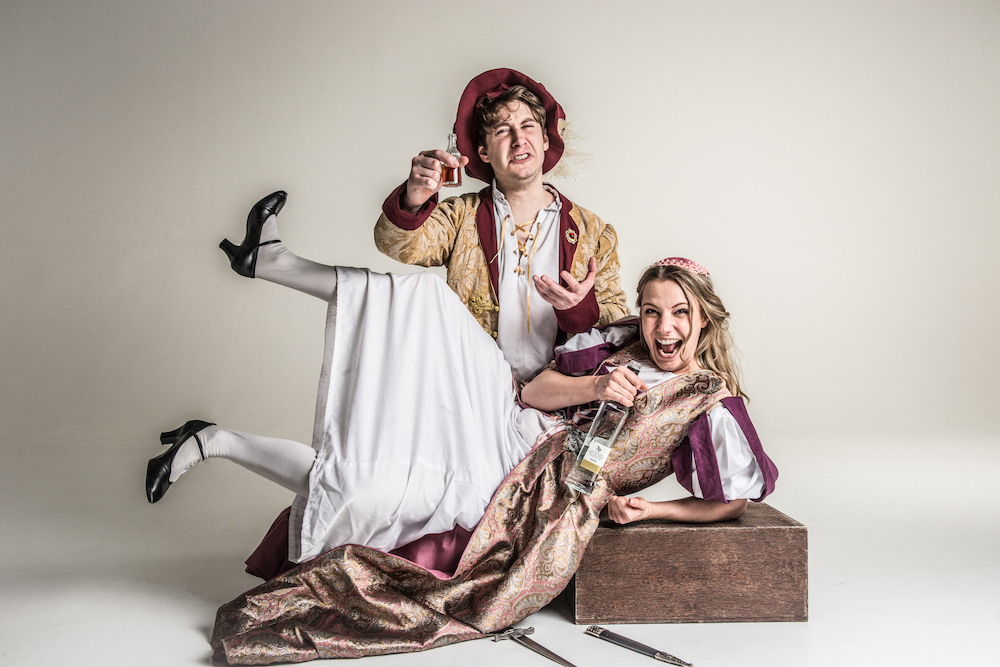 Sh!tfaced Shakespeare bring their version or Romeo and Juliet to Farnham Maltings.