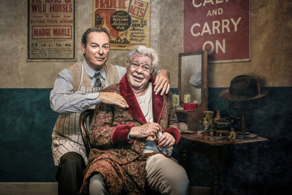 Julian Clary and Matthew Kelly star in The Dresser at Richmond Theatre